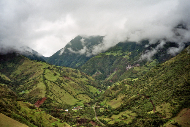 Agricultural Fields in Ecuador; Photo by Ayacop