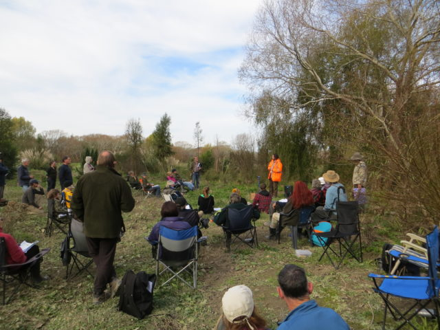 Conservation industry field day at Coes Ford 2014. Image by Sue McGaw